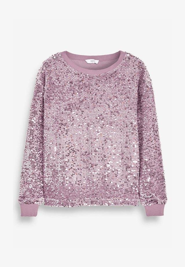 SEQUIN - Bluza - pink