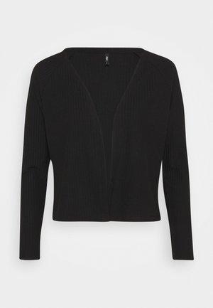 ONLNELLA SHORT CARDIGAN - Cardigan - black
