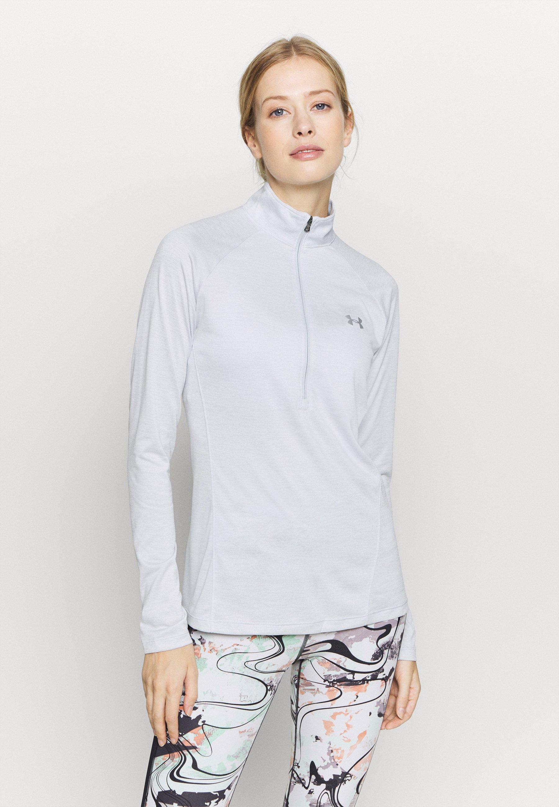 Femme TECH 1/2 ZIP TWIST - T-shirt de sport