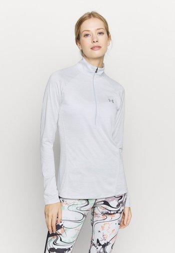 TECH ZIP TWIST - Camiseta de deporte - halo gray
