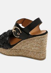 Kanna - SONIA - Platform sandals - schwarz - 5