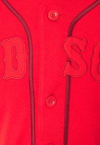 Fanatics - MLB BOSTON RED SOX FRANCHISE SUPPORTERS FASHION  - Klubbklær - uni red - 2