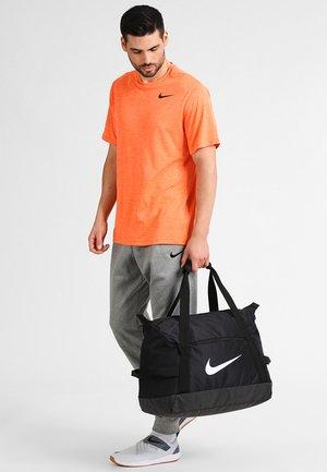 CLUB TEAM DUFF - Sports bag - black/white