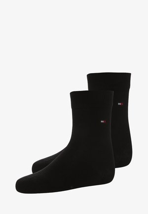 BASIC 2 PACK - Calcetines - black