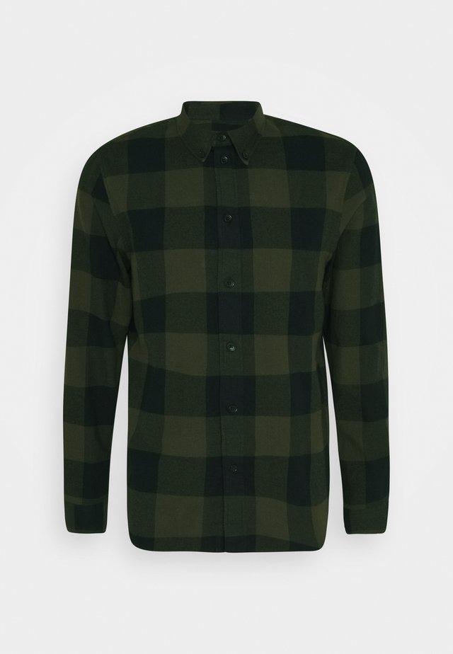 Shirt - oliv/ black