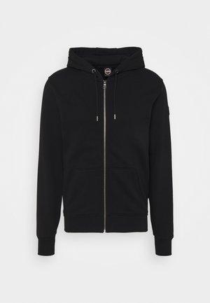 MENS - Zip-up sweatshirt - black