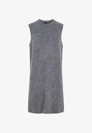Strikkjoler - dark grey melange