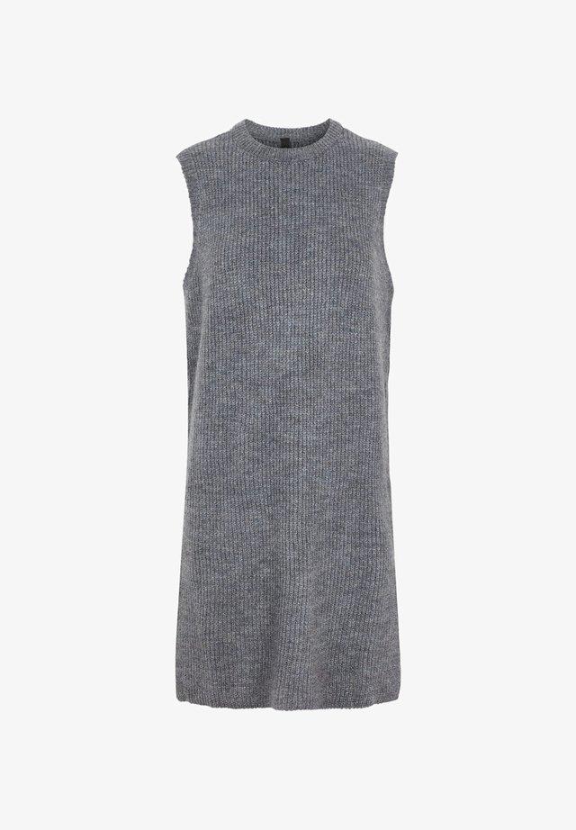 Sukienka dzianinowa - dark grey melange