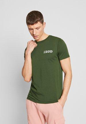 LOGO TEE - Print T-shirt - forest night
