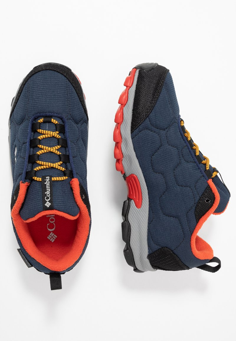 Columbia - YOUTH FIRECAMP SLED 3 WP UNISEX - Hiking shoes - collegiate navy