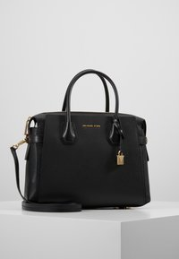 MICHAEL Michael Kors - MERCER BELTED SATCHEL - Handbag - black - 0