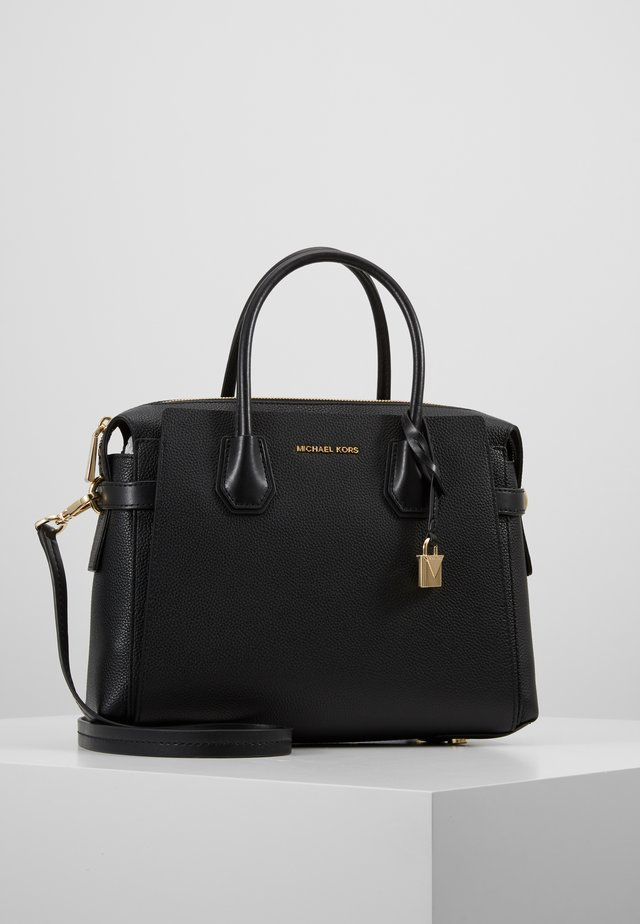 MERCER BELTED SATCHEL - Sac à main - black