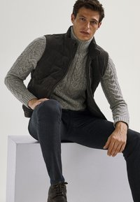 Massimo Dutti - Waistcoat - brown - 5