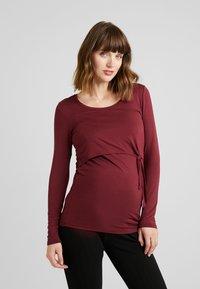 Esprit Maternity - NURSING - Longsleeve - garnet red - 0