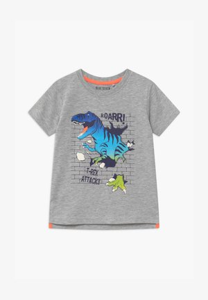 SMALL BOYS T-REX DINOSAUR - Print T-shirt - nebel
