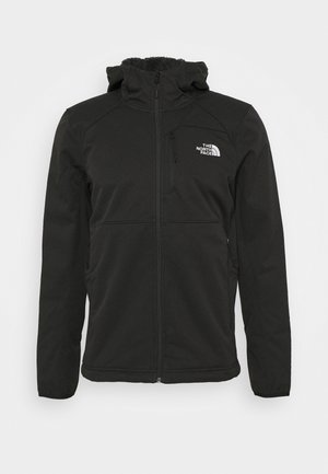 QUEST HOODED - Softshelljakke - tnf black