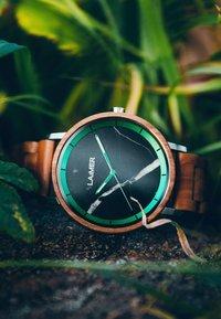 LAIMER - LUCA - Watch - silber/braun - 5