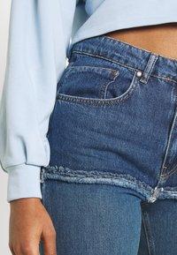 The Ragged Priest - OMBRE MOM - Jeans straight leg - indigo/mid/light blue/stonewash - 3