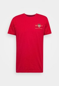 ARCHIVE SHIELD - T-shirt con stampa - bright red