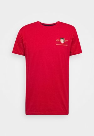 ARCHIVE SHIELD - Print T-shirt - bright red