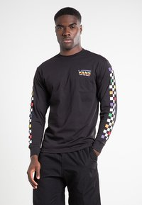 Vans - RAINBOW - Long sleeved top - black - 0