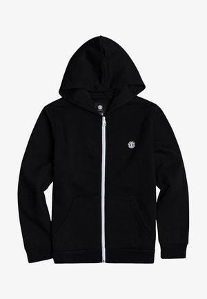 CORNELL  - Zip-up sweatshirt - flint black
