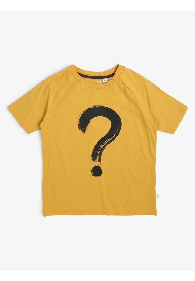 Print T-shirt - mais