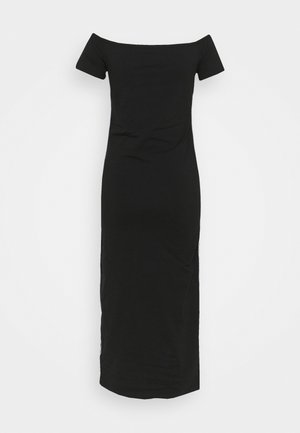 BARDOT PIPING DRESS - Maxi dress - black