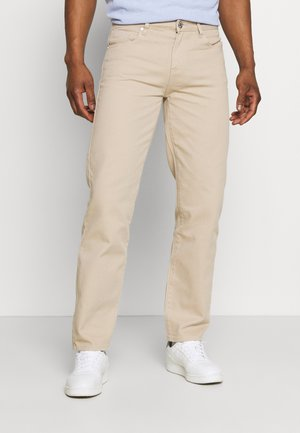 AFTERMATH STRAIGHT LEG TROUSER - Straight leg jeans - beige