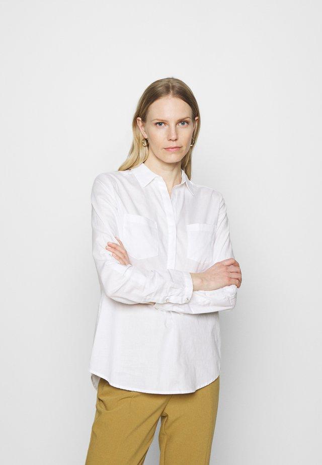 FALENTA - Button-down blouse - white