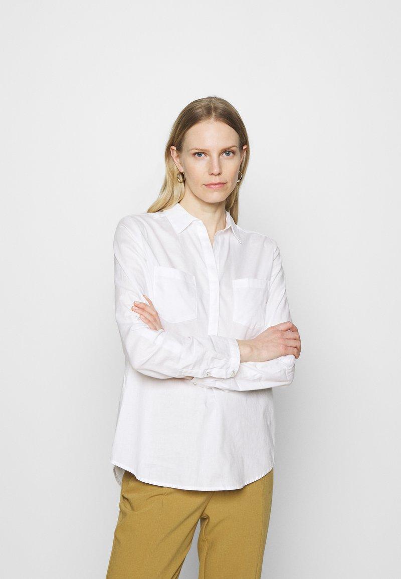Opus - FALENTA - Košile - white