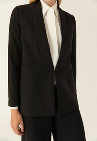 IVY & OAK - SHAWL COLLAR - Kurzmantel - black - 3
