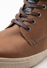 TOM TAILOR - Sneakersy wysokie - rust - 5