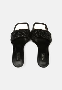 River Island Wide Fit - Heeled mules - black - 4