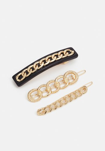 FGPANNIA HAIRCLIPS 3 PACK - Hair styling accessory - gold-coloured