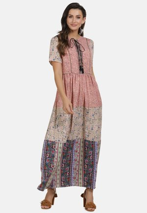 HIPPIE - Maxi dress - multi flower print