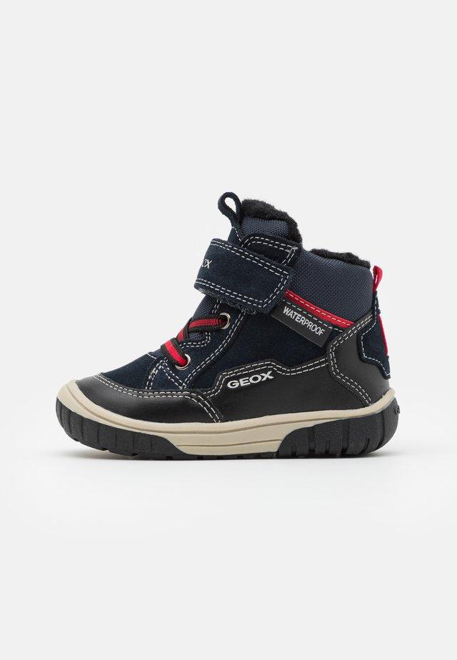 OMAR BOY WPF - Baby shoes - navy/black