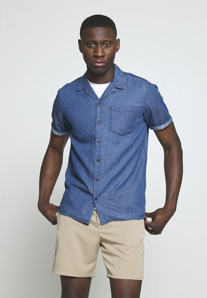 JCOKEN SHIRT ONE POCKET - Shirt - medium blue denim