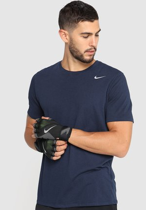 PREMIUM FITNESS GLOVE - Fingerless gloves - black/volt/white