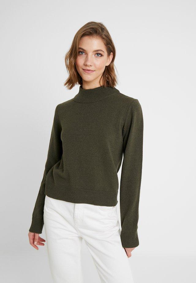 PAMELA REIF HIGH NECK  - Pullover - army green