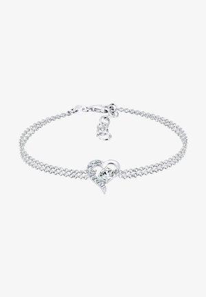 HEART - Bracelet - silver-coloured