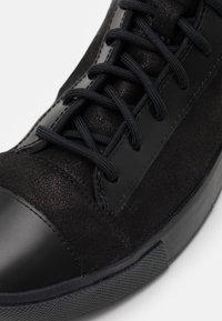 Converse - DISTORT UNISEX - High-top trainers - black/gunmetal - 7