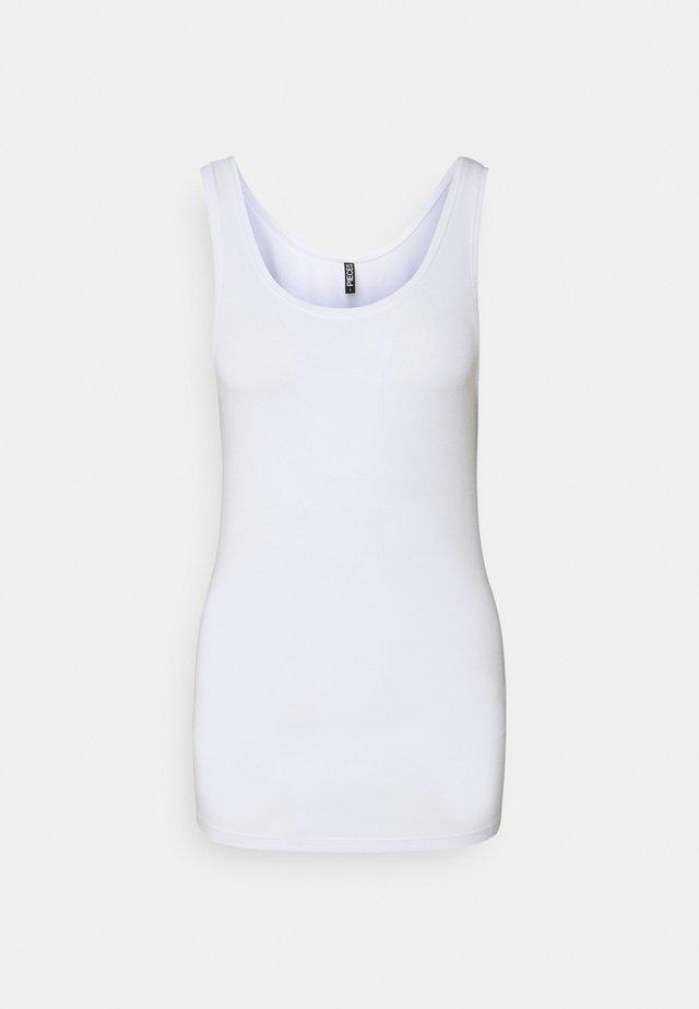 PCSIRENE TANK - Hemd - bright white