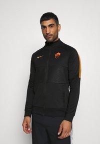 Nike Performance - AS ROM - Club wear - black/safety orange - 0