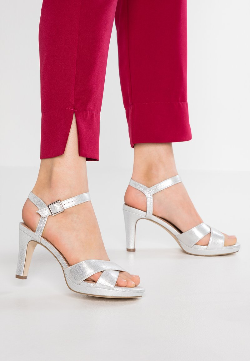 Menbur - High heeled sandals - silver