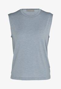 Icebreaker - Print T-shirt - gravel - 5