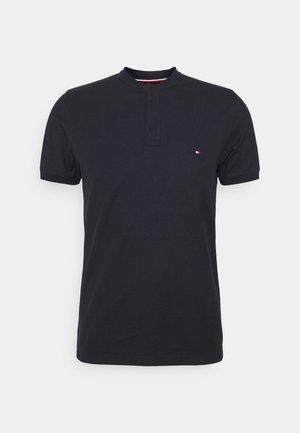 BASEBALL COLLAR SLIM - T-shirt basic - desert sky