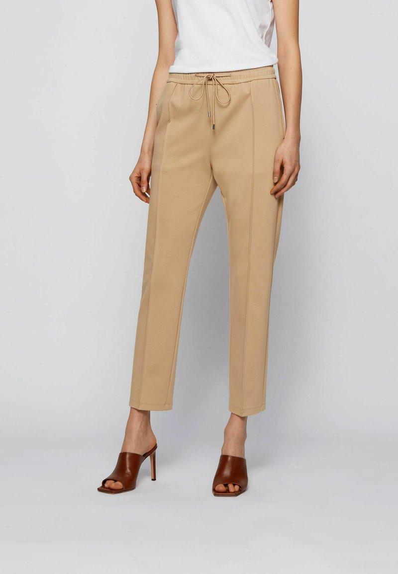 BOSS - Trousers - beige