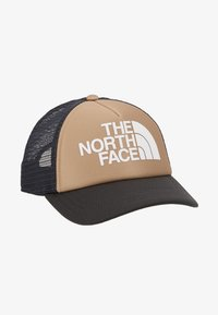 The North Face - LOGO TRUCKER - Kšiltovka - kelp tan/asphalt grey - 1