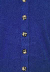 Marks & Spencer London - NEEDLE CARDI - Strikjakke /Cardigans - blue - 2